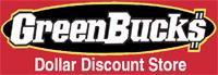 Sponsor: Green Bucks Dollar Discount Store
