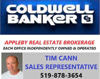Sponsor: Coldwell Banker - Tim Cann