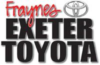 Sponsor: Fraynes Exeter Toyota